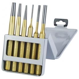 Extol Premium lyukasztó és kiütő készlet 6db, 150 mm (8801823)
