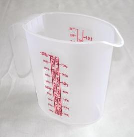 Mércés műanyag kancsó 1 l