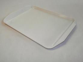 Tálca fehér műanyag, kicsi 28x39 cm