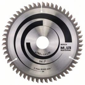 Bosch Körfűrészlap Multi Material, 190 x 30 x 2,4 mm, 54 (2608640509)