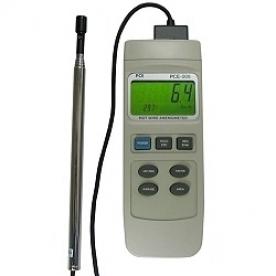 Szélsebességmérő PCE-009 Termo