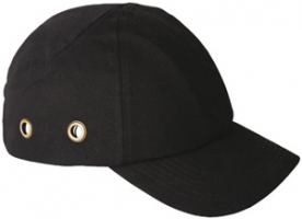 Baseball sapka beépített protektorral, fekete (57306)