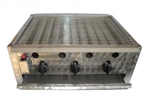 BGT-3 háromégős asztali grillező készülék, földgáz üzemű