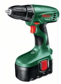 Bosch PSR 18 egyfokozatú, 1 akkus fúrócsavarozó (0.603.955.320)