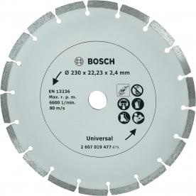 Bosch gyémánt vágótárcsa építési anyagokhoz, 230 mm (2607019477)