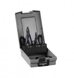 Bosch 3 darabos lépcsős fúró készlet HSS-AlTiN (2608588069)