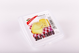 Műanyag sajttartó