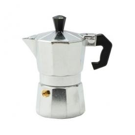 Kávéfőző 1 személyes kotyogós, alumínium (28140)