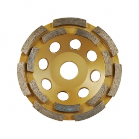 Extol Premium gyémántcsiszoló korong, kétsoros 125mm×22,2mm (8803122)