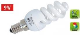 KFS 9/14H Home kompakt fényforrás, maxi spirál 4200 K, 462 lm