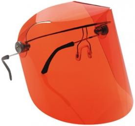 Labor arcvédő narancs színű látómezővel (GAN60668)