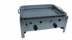 BGT-2 kétégős asztali pecsenyesütő készülék, PB-gáz üzemű