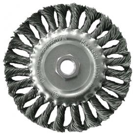 Extol drótcsiszoló körkefe (tányérkefe) 125 mm, sodort (17026)