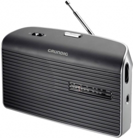 Grundig táskarádió, szürke (MUSIC-60G)