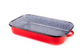 Bonyhádi zománcozott tésztasütő 32 cm