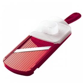 Kyocera állítható kerámia szeletelő, kézvédővel piros (CSN-202RD)