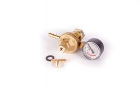 PB nyomásszabályozó manométerrel 0-4 bar 6 kg/h