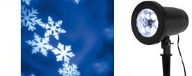 Home karácsonyi LED projektor, hópehely  (DL IP 1)
