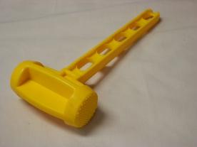 Húsklopfoló, műanyag sárga