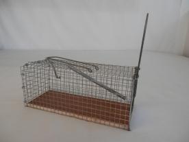 Élvefogó patkánycsapda 27cm szögletes (11357)