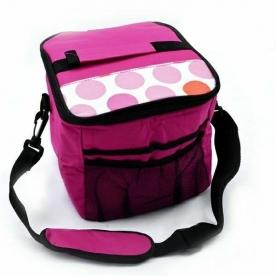 Hűtőtáska 8L, pink (72111-pink)