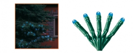Home LED-es fényfüzér kék, kültéri (KKL 208/BL)
