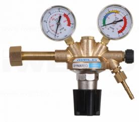 Iweld Dynareg Oxigén palack nyomáscsökkentő 230/10 bar, 2 manométerrel