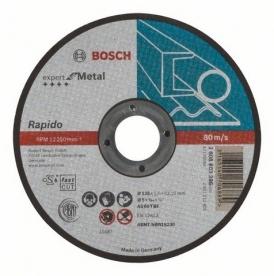 Bosch Expert For Metal darabolótárcsa egyenes, 125x1 mm (2608603396)