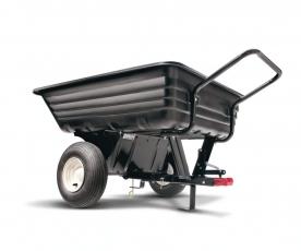 WOLF-Garten vontatható műanyag utánfutó 227 kg fűnyíró traktorhoz (190-236A000)