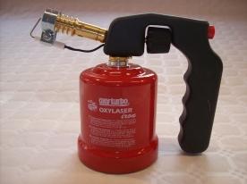 Oxyturbo Oxylaser Iron gáz forrasztólámpa piezogyújtással