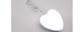 Home mini lámpa LED-es, szív (PNL HRT)