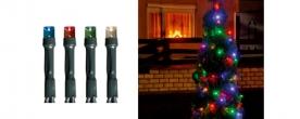 Home LED-es fényfüzér színes, kültéri (LED 108/M)