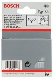 Bosch finomhuzal-kapocs 53-as típus - 11,4 x 0,74 x 12 mm (1609200367)
