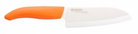Kyocera Santoku kerámia kés narancssárga 14 cm (FK-140WH-OR)