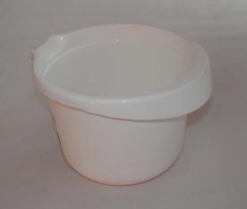 Mixerhez műanyag keverőedény 1 l fehér
