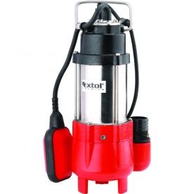 Extol szennyvíz búvár szivattyú, úszókapcsolóval, 250W, (8895000)