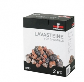 Landmann lávakő, mosható 3 kg (0273)
