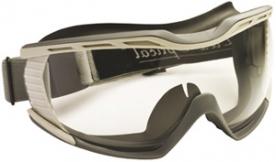 Biolux gumipántos védőszemüveg páramentes lencsével (60680)