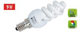 KFS 9/14M Home kompakt fényforrás, maxi spirál 2700 K, 462 lm