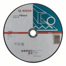 Bosch Expert For Metal darabolótárcsa egyenes, 230X1.9 mm (2608603400)
