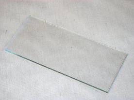 Előtétüveg hegesztőpajzshoz, víztiszta 105 x 50 mm