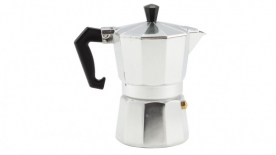Kávéfőző 3 személyes kotyogós, alumínium (28404)