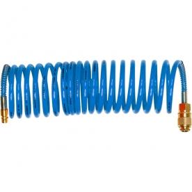 Extol légtömlő spirál kompresszorhoz 8 m, átmérő 8 mm (8865135)