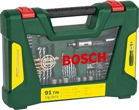 Bosch V-Line készlet 91 részes (2607017195)