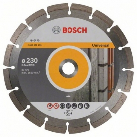 Bosch Standard for Universal gyémánt darabolótárcsa, 10 db, 230-22,23 (2608603248)