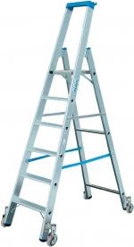 Krause Stabilo gurítható lépcsőfokos állólétra 6 fokos  (124630)