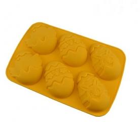 Húsvéti tojás sütőforma, szilikon (12343)