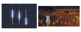 Home LED-es jégcsap fényfüzér, kültéri (G 550)