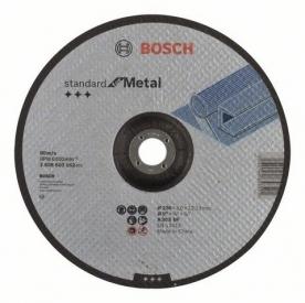 Bosch Standard for Metal darabolótárcsa hajlított, A 30 S BF, 230 mm, 22,23 mm, 3 mm (2608603162)