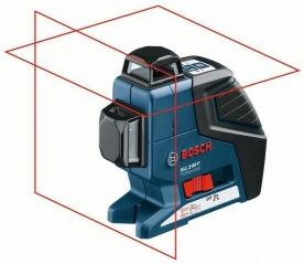 Bosch GLL 2-80 P vonallézer, állványos (0 601 063 205)